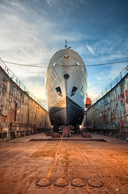 In The Drydock