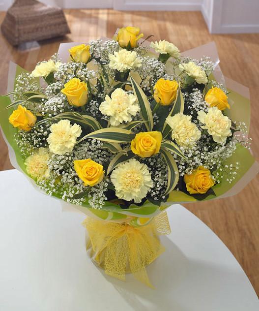Golden wedding anniversary bouquet flickr photo sharing
