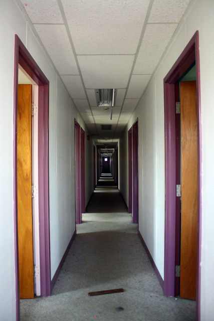 corridor of doors