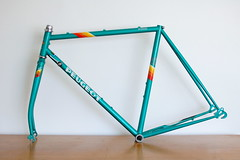 rectangle(0.0), green(0.0), triangle(0.0), triangle(1.0), turquoise(1.0), line(1.0), bicycle frame(1.0),