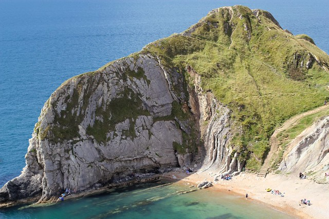Beach at Man of War Bay, Dorset