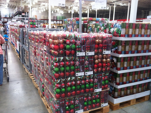 Christmas decorations at costco holliday