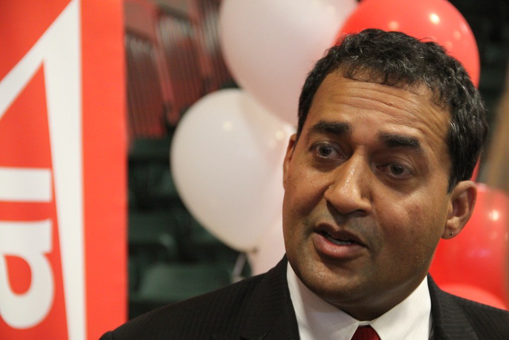 Alberta Liberal Party leader Raj Sherman