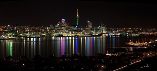 Auckland from Mt Victoria