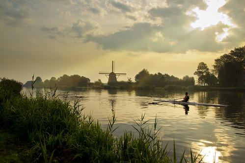 amsterdam dawn amstel ouderkerkaandeamstel