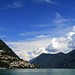 Awesome scenery at lake Lugano