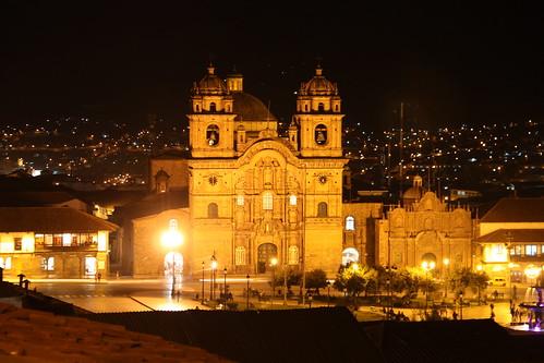 Iglesia de la Compañia de Jesús by night