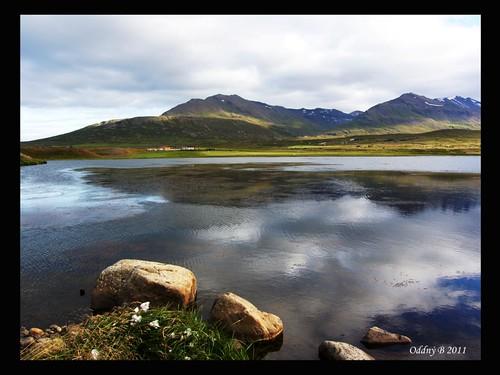nature landscape iceland ísland náttúra dalvík landslag hrísatjörn