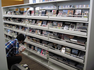 Plenty of DVDs on Hand at the New West Hollywood Library - 10/02/11