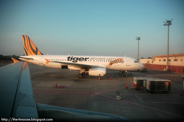 Tiger Airways @ Singapore Budget Terminal