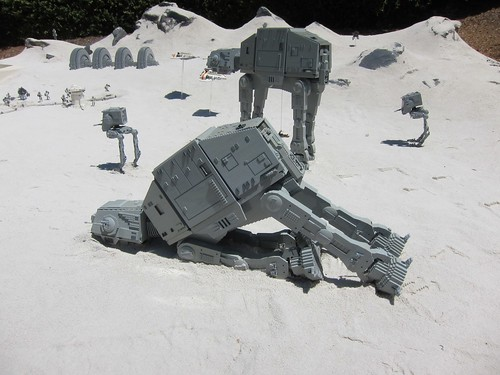 Legoland Hoth Imperial Walkers