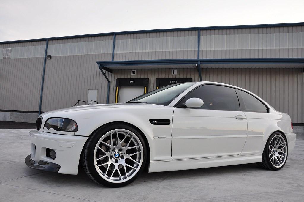 E46 Alpine White E46 M3 6 Speed MINT!