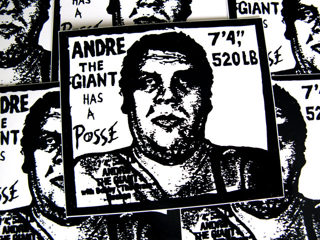 Andre the Giant has a Posse / Obey / Shepard Fairey ...