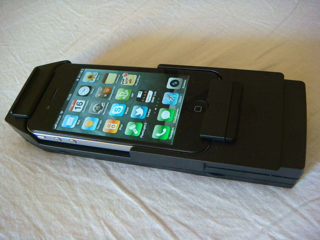 BMW Snap-In adapter iPhone 4 | part number 84 21 2 199 389