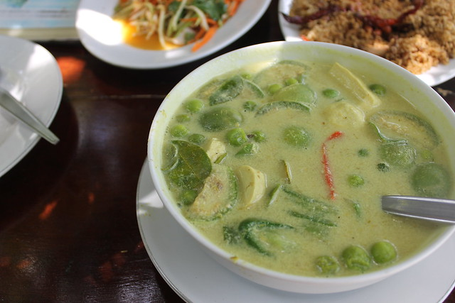 The best green curry EVER