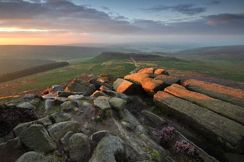 First Light on Higger Tor