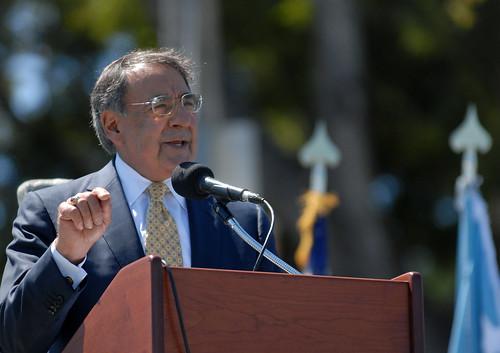 Secretary of Defense Leon Panetta visits POM