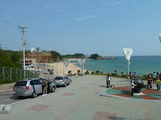 Bild av Samcheok Beach (삼척해수욕장) Samcheok Beach. beach korea gangwondo samcheoksi