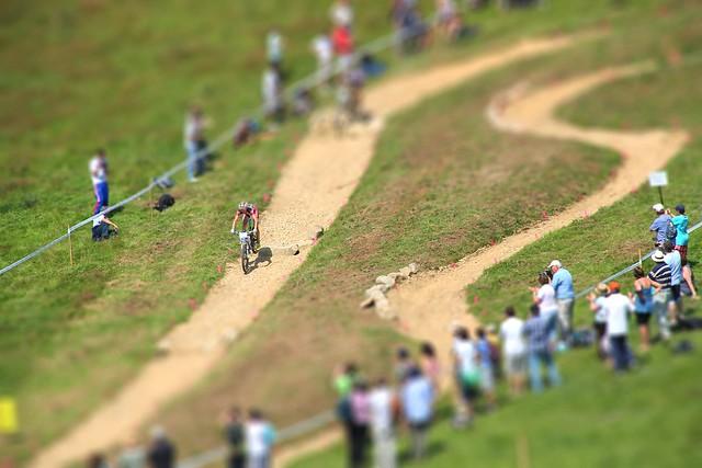 Olympic Rider Tiltshift