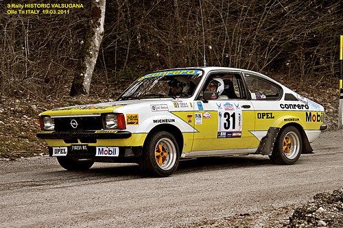 opel kadett gte 3 rally historic valsugana a photo on flickriver. Black Bedroom Furniture Sets. Home Design Ideas