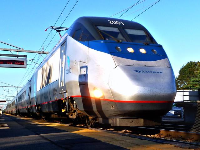 Amtrak returns