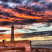Lighthouse and the Colorful Sky
