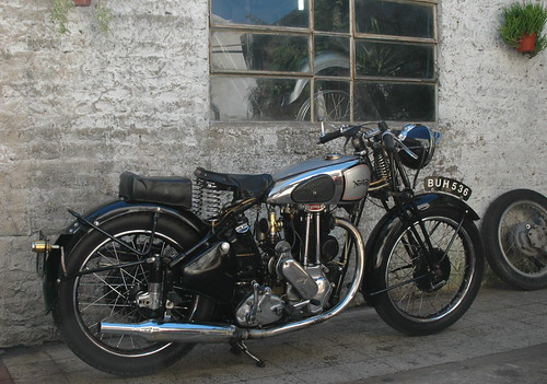 The Motorcycle Diaries, 1939 Norton 500