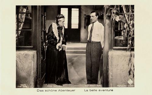 Adele Sandrock and Wolf Albach-Retty in Das schöne Abenteuer (1932)