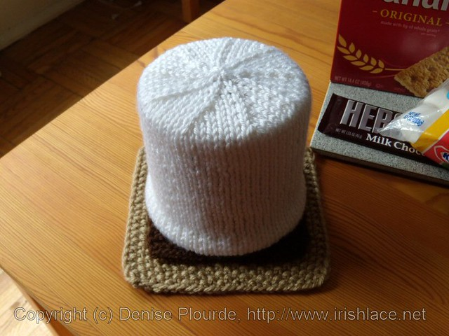 Knitting Pattern For Toilet Paper Holder : smores, knit: assembled Flickr - Photo Sharing!