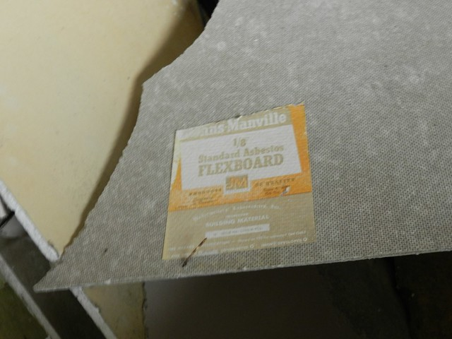 Buckner building asbestos drywall flickr photo sharing for Is there asbestos in drywall