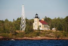 Copper Harbor Lighthouse, Keweenaw Peninsula, Michigan