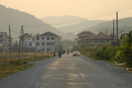 burma myanmar outskirts shanstate tachileik