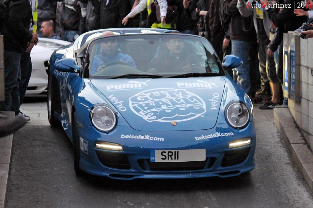 Porsche 911 Speedster 2011 – Gumball 3000 Paris (05-2011)