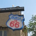 Joliet Area Historical Museum Route 66 Sign