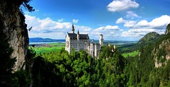 Neuschwanstein castle, in all its glory