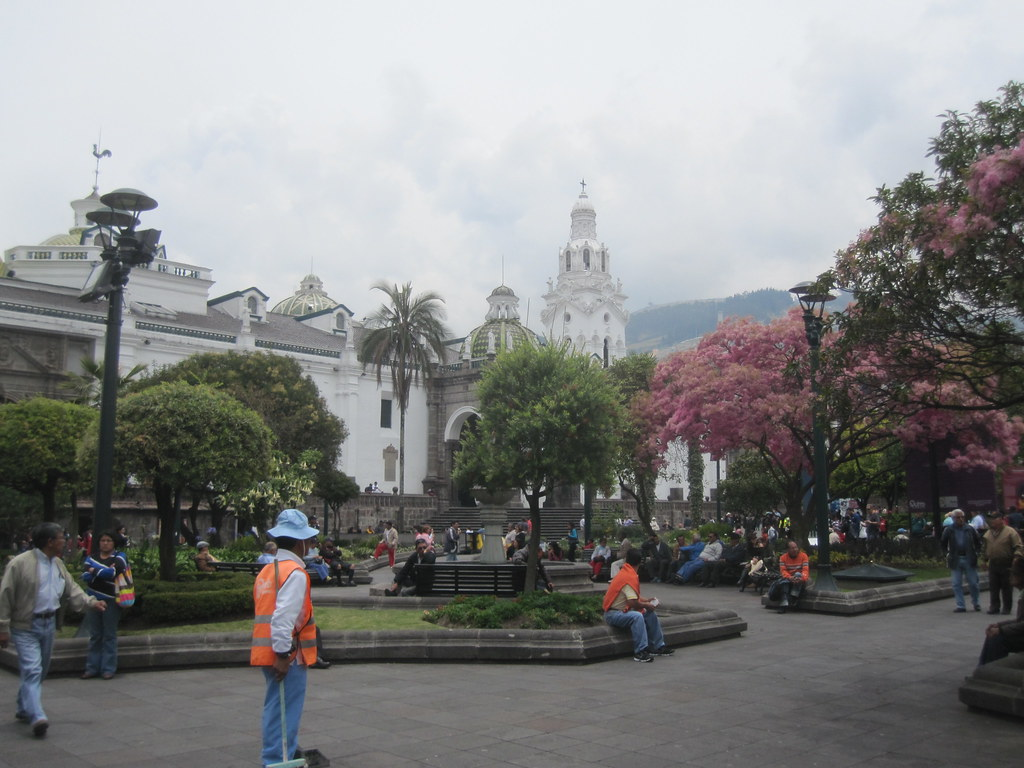 Quito Ecuador Main Square