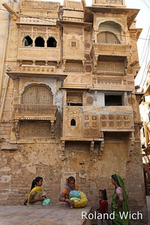 Inside Jaisalmer Fort