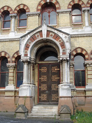 Abbey Mills East Door