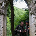 John and Paul through the gothic window by Moonrhino