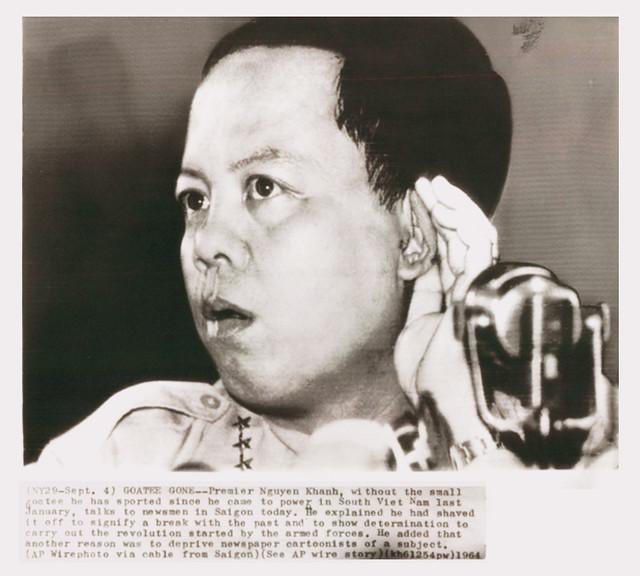 South Vietnam Premier Maj. Gen. Nguyen Khanh. Dated September 4, 1964