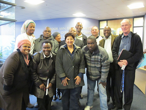 SA SDI Alliance meets with Cape Town Mayor