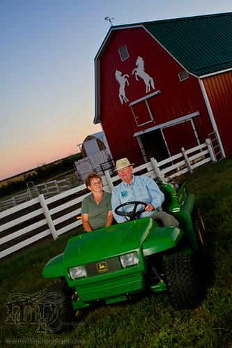 Acadia Valley B&B: Shirley & Bert [1 of 3]
