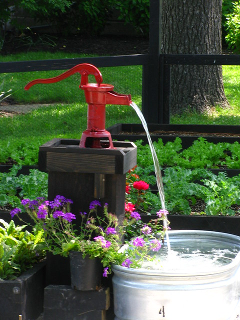 Creative Garden Water Feature Landscaping Bucks County