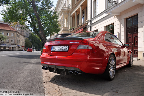 Merc CLK 63 AMG Black Series