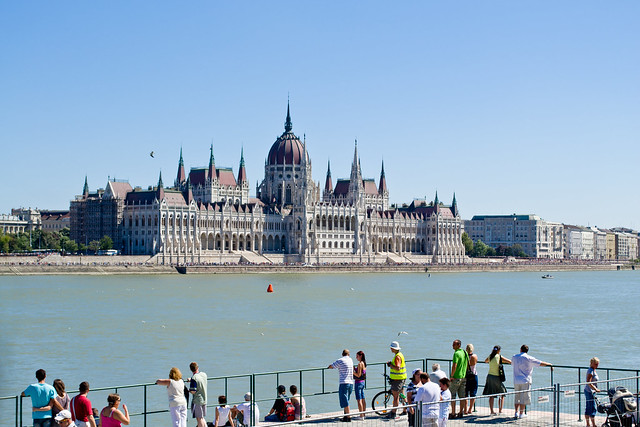 Parliament from Across the Danube