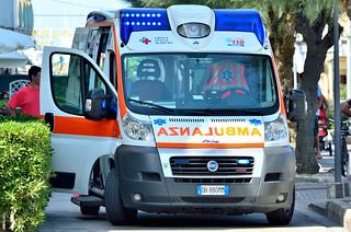 Ambulance-ambulanza -118 emergency-FIAT Ducato 3° serie