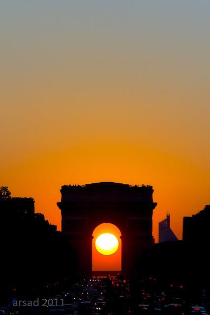 coucher_de_Soleil_Arc_de_Triomphe