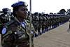 Nigerian Contintingent Medal parade