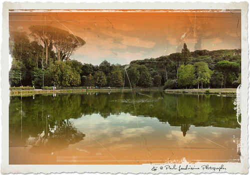 park trees sunset italy parco lake rome roma verde green alberi pond nikon italia tramonto imagination et salario phantasmata paololandriscinaphotographer mygearandme laghettolago hallglorymorningwayaug2011