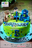 Ben 10 Alien Force Cake for Dhimas